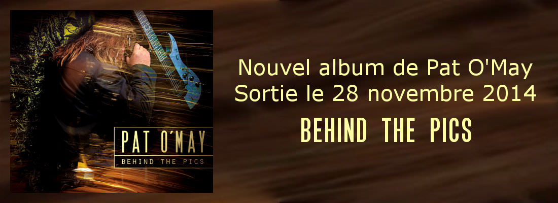 Behind The Pics, album de Pat O'May