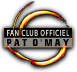 Lien vers le site du fan club de Pat O'May